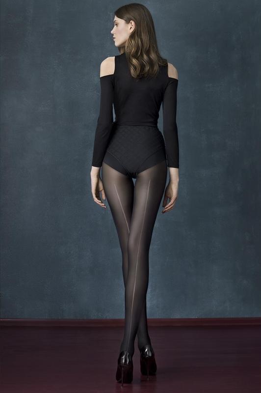 Punčochové kalhoty Fiore Long Black